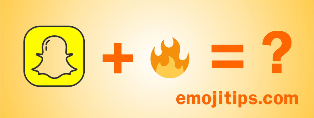All Snapchat emoji meanings