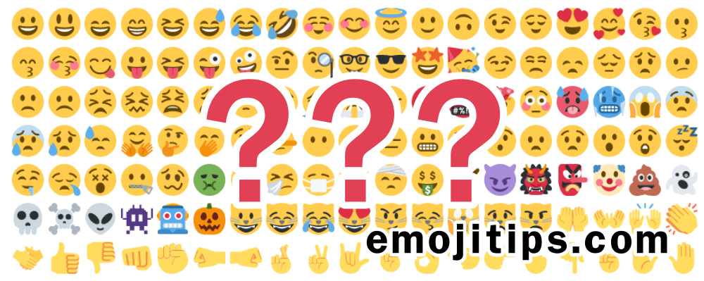 All Emoji Symbols And Their Meanings